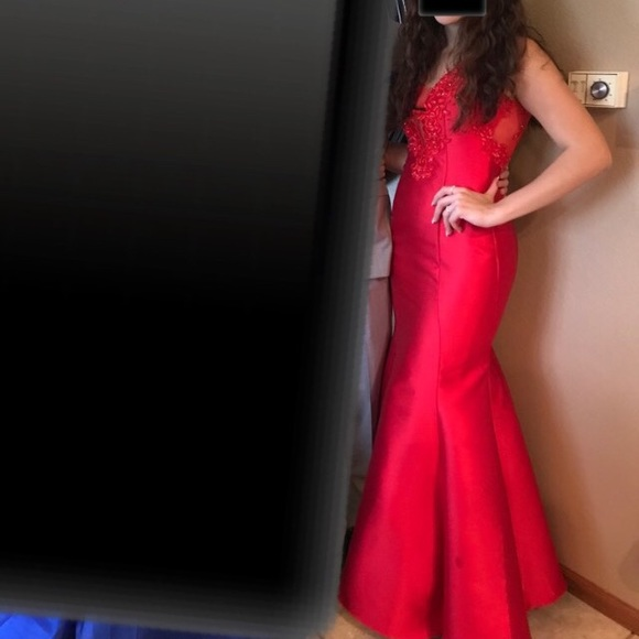 Say Yes to Prom Dresses | Beautiful Red Prom Dress | Poshmark